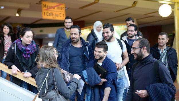 Flüchtlinge Universität